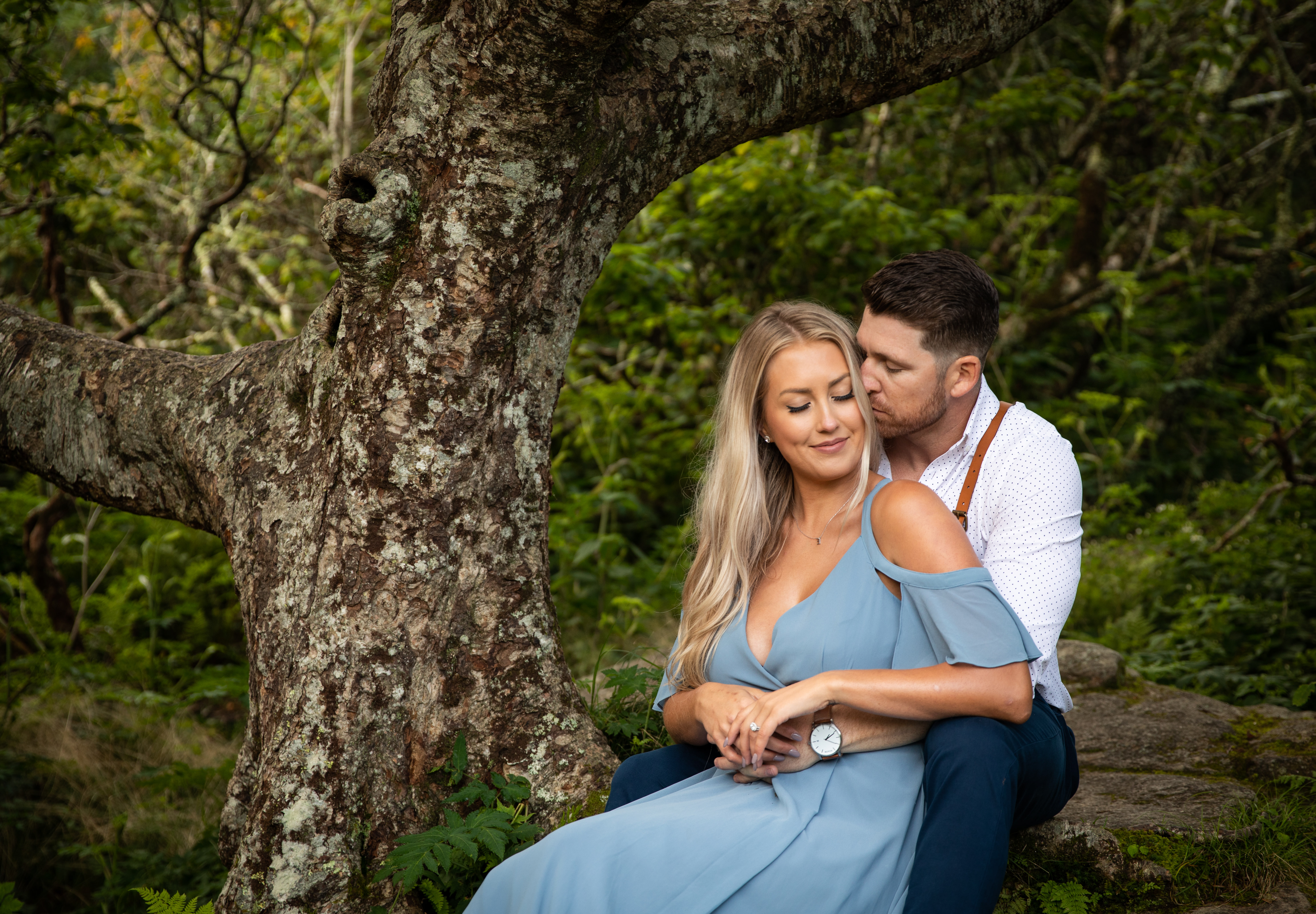 Engagement at Craggy Gardens