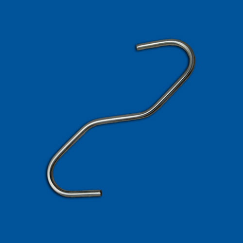 Upognjen žični del, žica iz nerjavečega jekla, različica 6