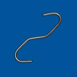 Део савијене жице, жица од нерђајућег челика, варијанта 6