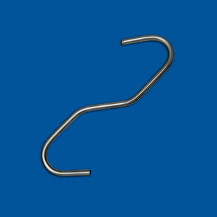 Parte in filo piegato, filo in acciaio inossidabile, variante 6