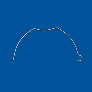 Upognjen žični del, žica iz nerjavečega jekla, varianta 10