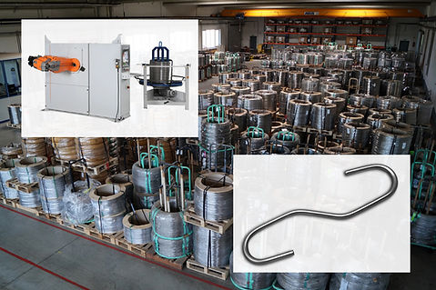 Stainless steel wire warehouse for wire bending parts