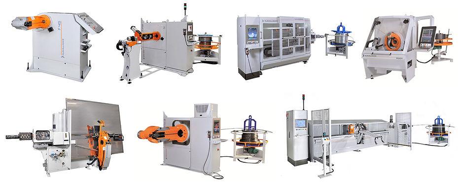 Drahtbiegemaschinen verschiedene produkte