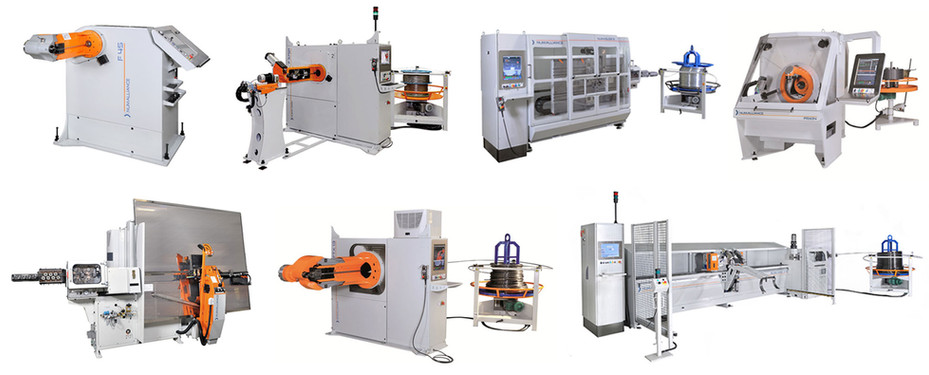 Wire bending machines products