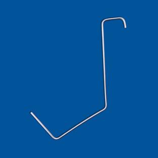 Bøyd ledningsdel, rustfritt ståltråd, variant 3