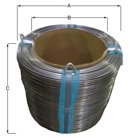 aufmachung coil mit pappkern
