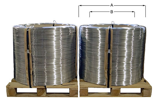 Coils mit Pappkern aus dem Lieferprogramm von AGST