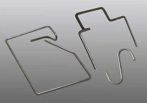 Selection of wire bending part