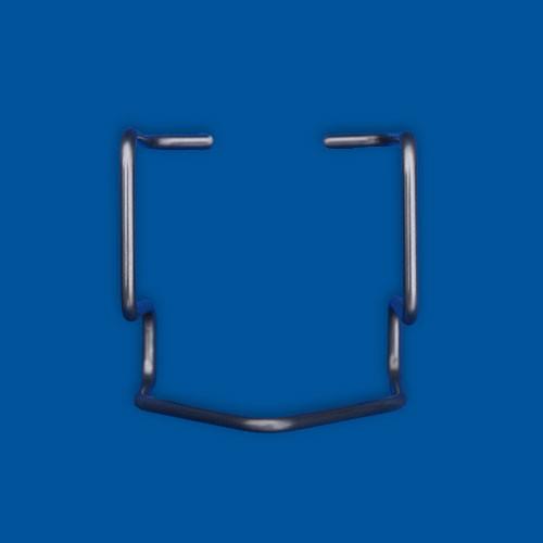 Upognjen žični del, žica iz nerjavečega jekla, varianta 1