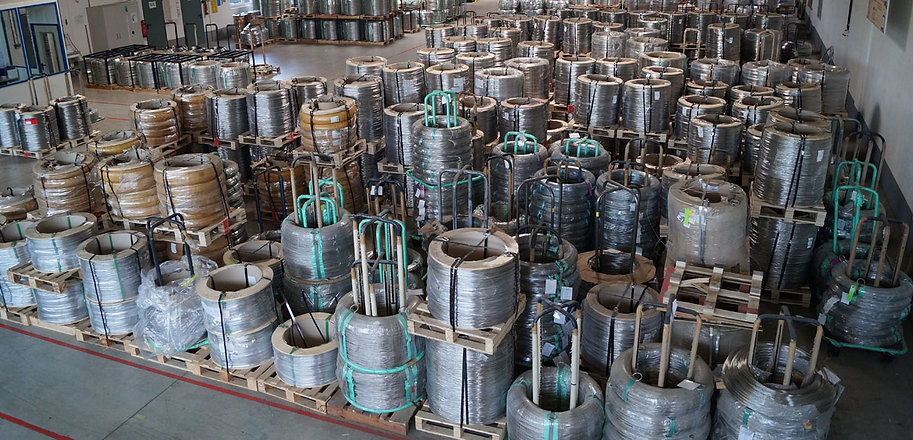 Stainless wires warehouse of AGST