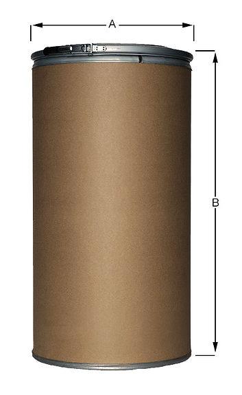 Aufmachung Pappfass