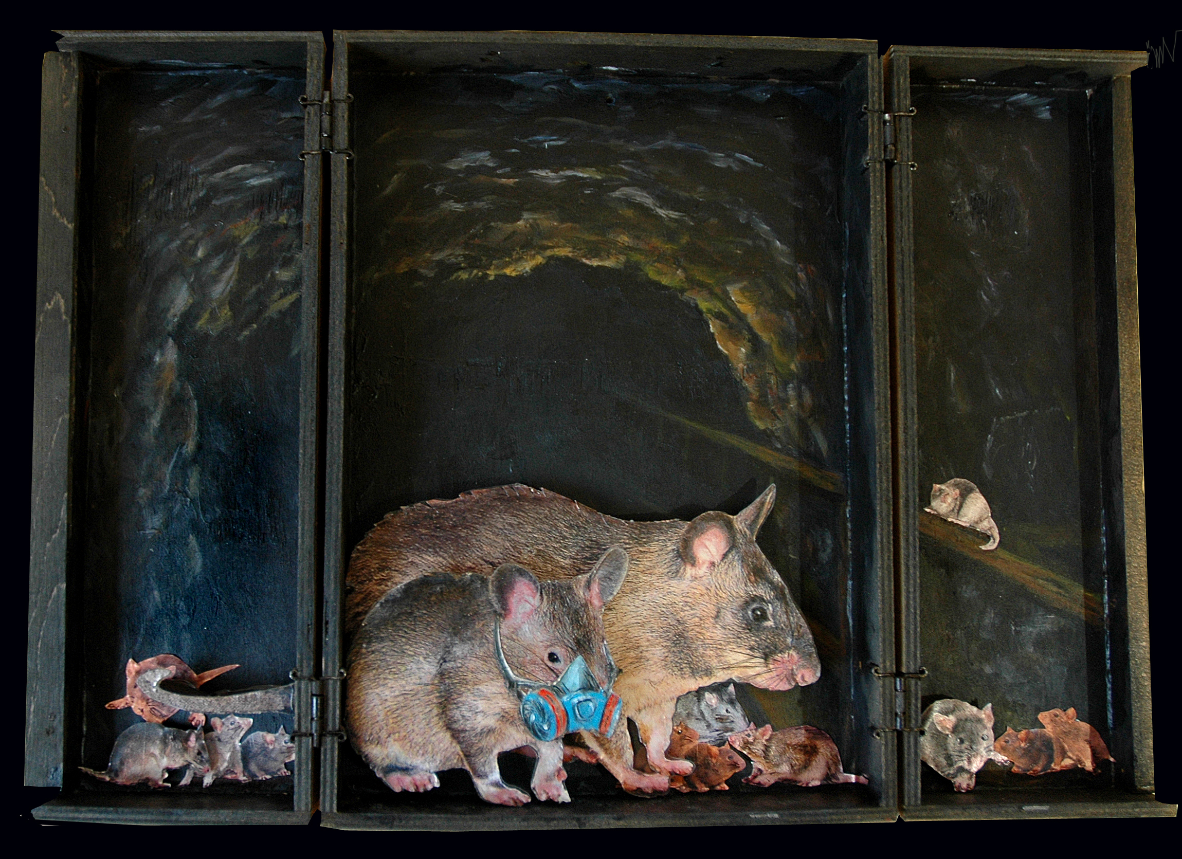 Fear Not the Rats_#3_MixedMedia_15x12_20