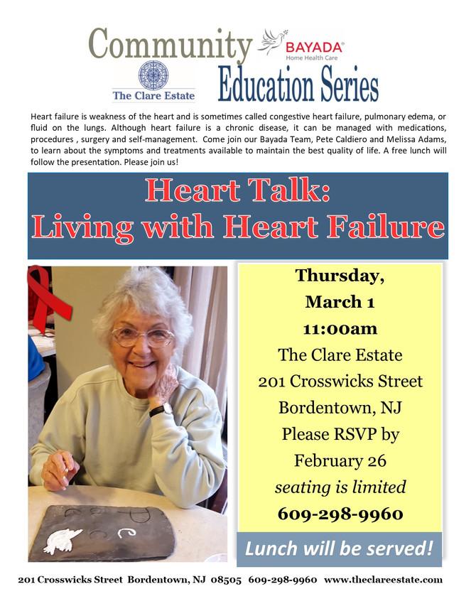 Heart Talk: Living with Heart Failure