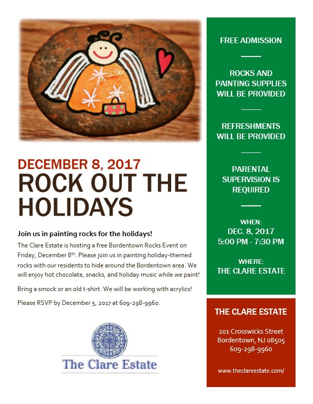 Rock Out the Holidays at The Clare Estate
