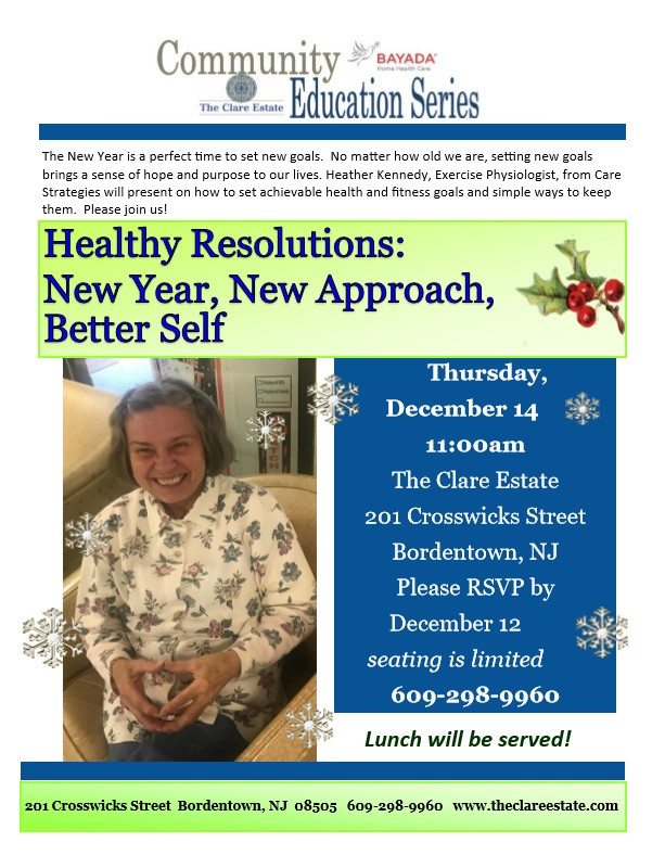 Healthy Resolutions: New Year, New Approach, Better Self