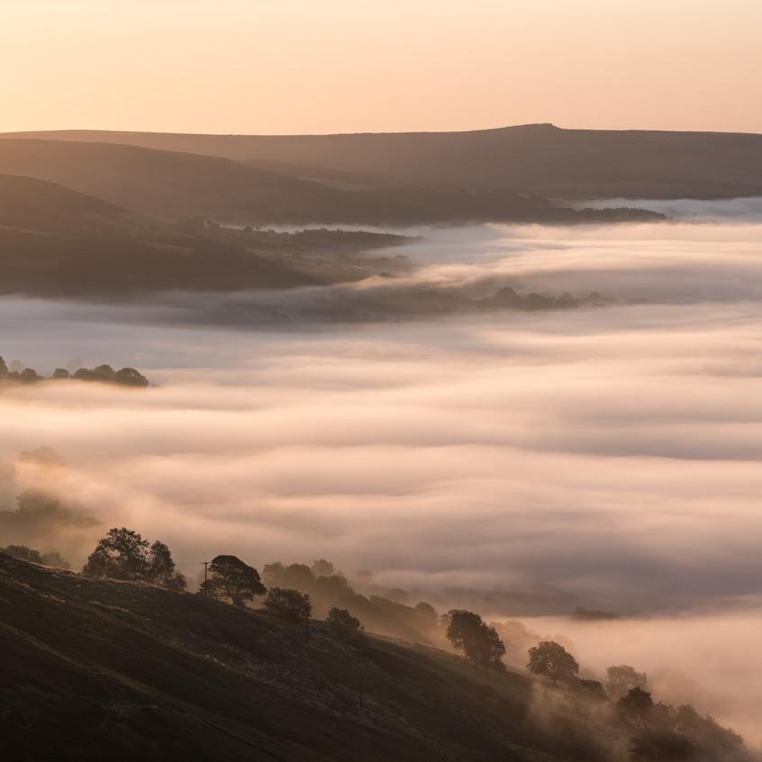 Castleton in the mist