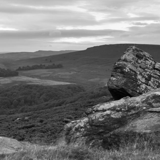 Carhead Rocks B&W