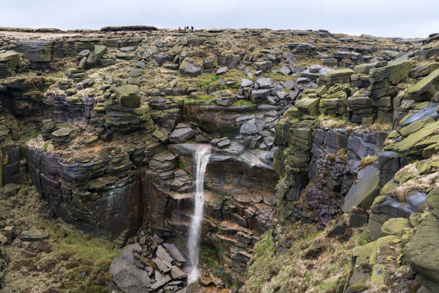 The big one! Kinder Downfall.