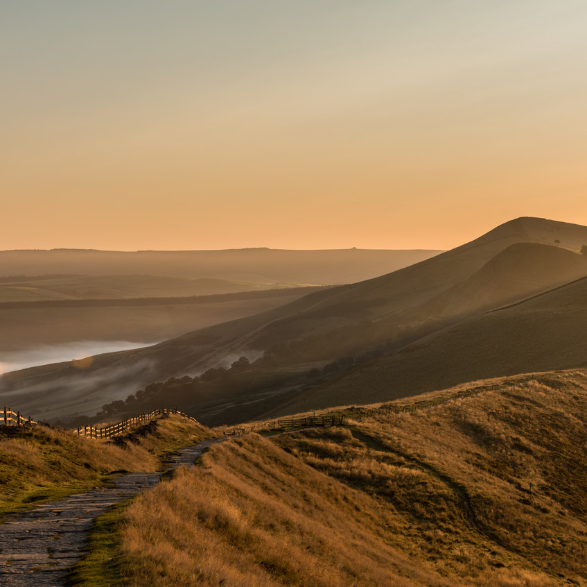 The great ridge walk path