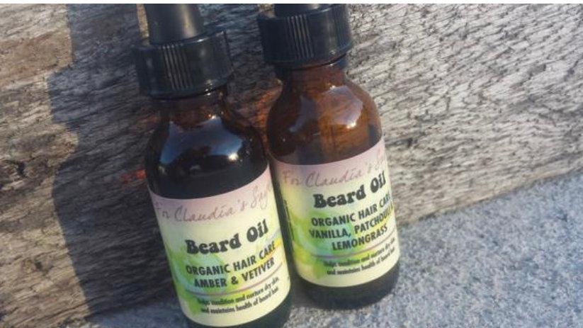 Amber vetiver beard oil