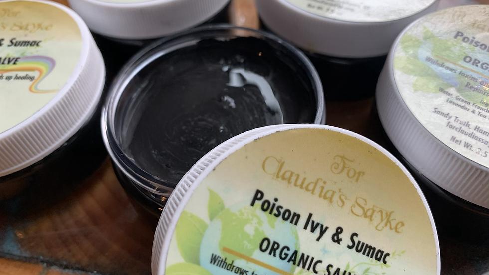 Poison ivy/ sumac drawing mask