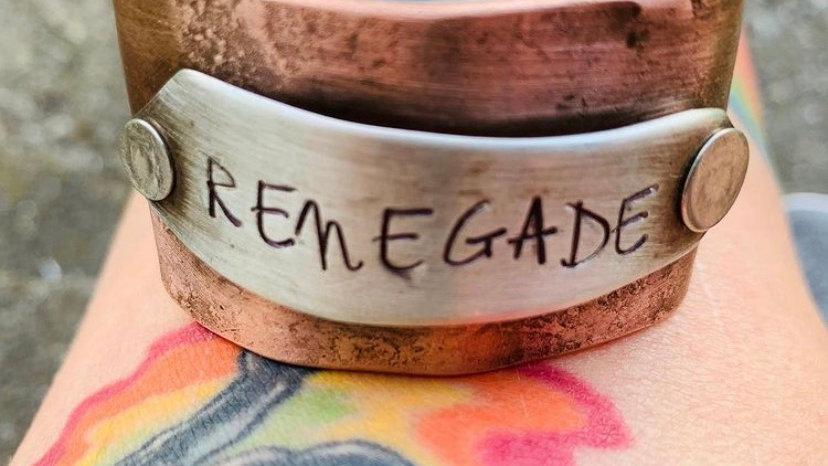 Renegade copper cuff