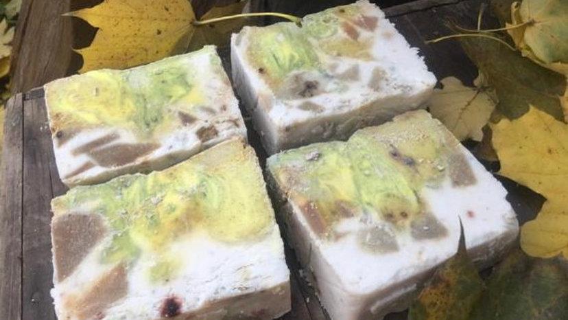 Alien amber soap