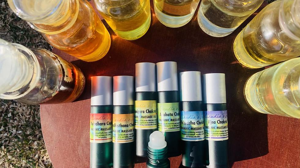 Ajna third eye  chakra oil