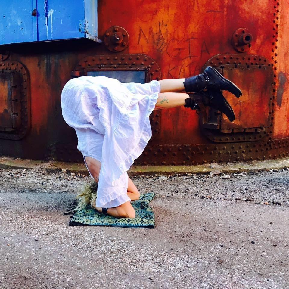 Spiritual warrior yoga