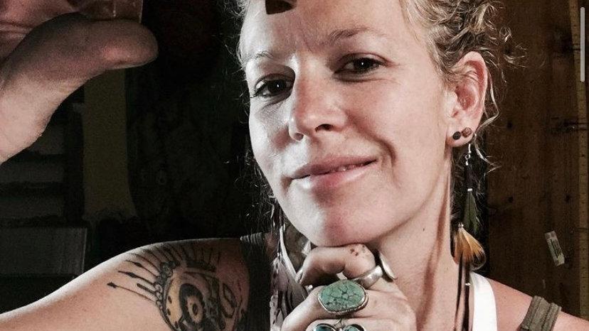 Survivor  metal stamped copper cuff survivor