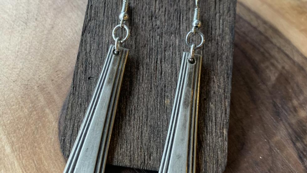 Silverplated earrings