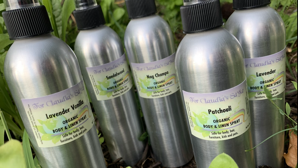 Patchouli body and linen spray