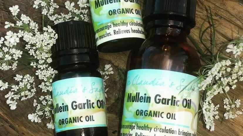 Mullien garlic oil