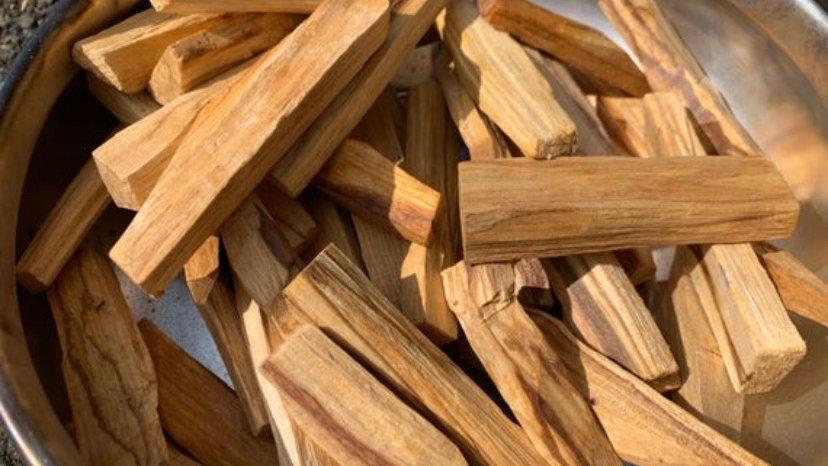 Five Palo santo sticks
