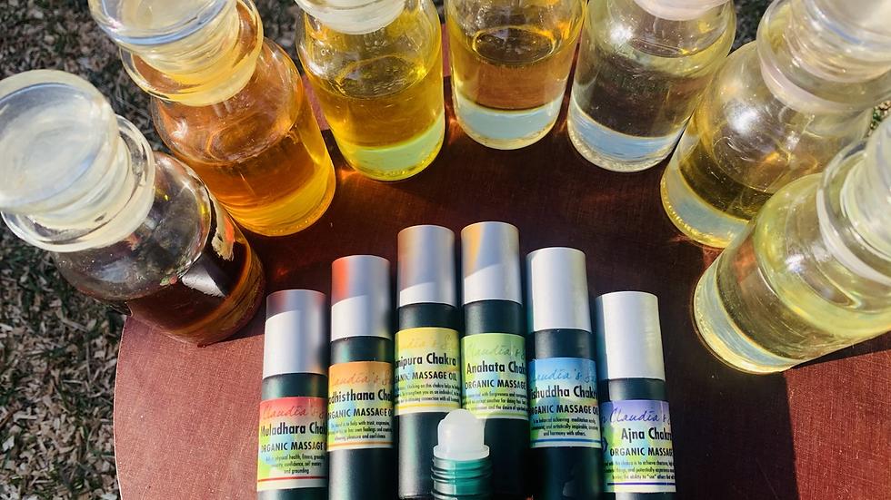 Svadthhistana sacral chakra oil