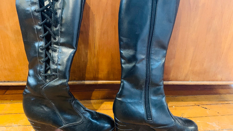 Vintage high boots