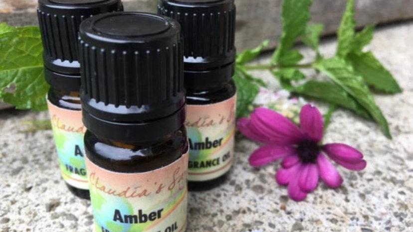 Amber fragrance oil