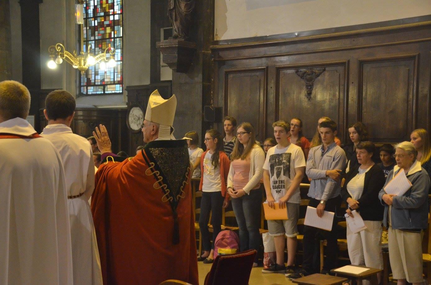 Vêpres présidées par notre évêque