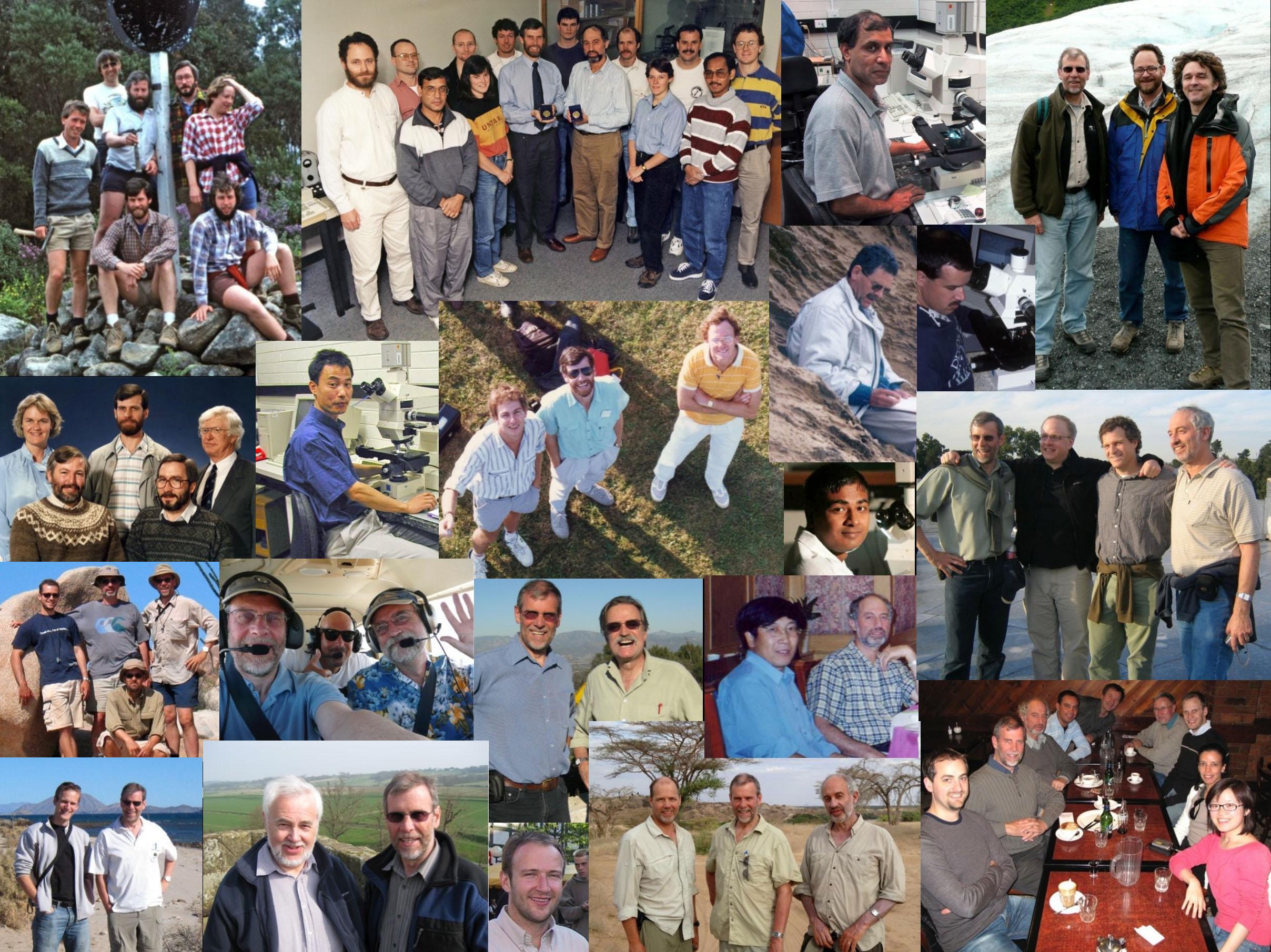 Collaborators montage, 2014