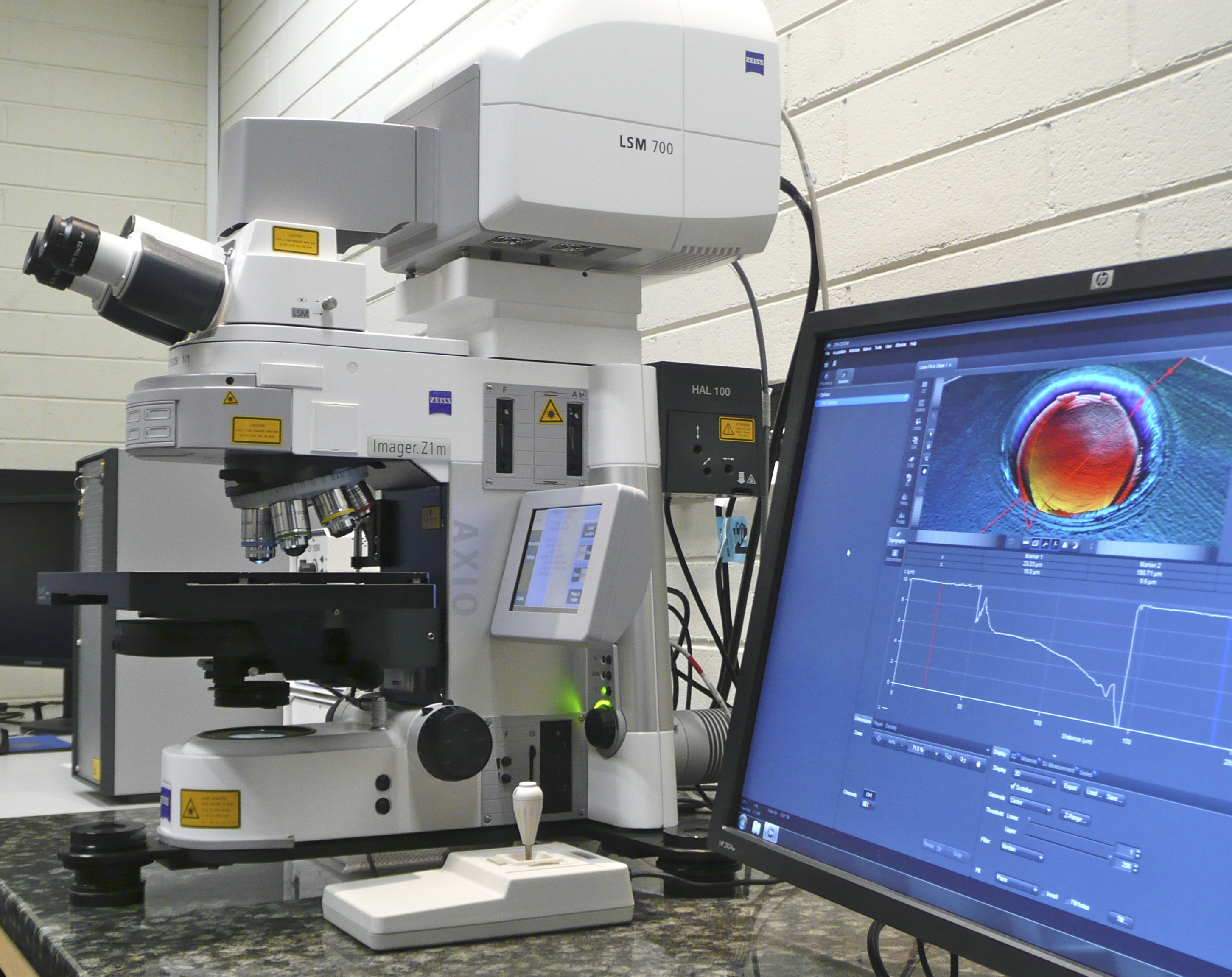 Zeiss Z1m Microscope with LSM700
