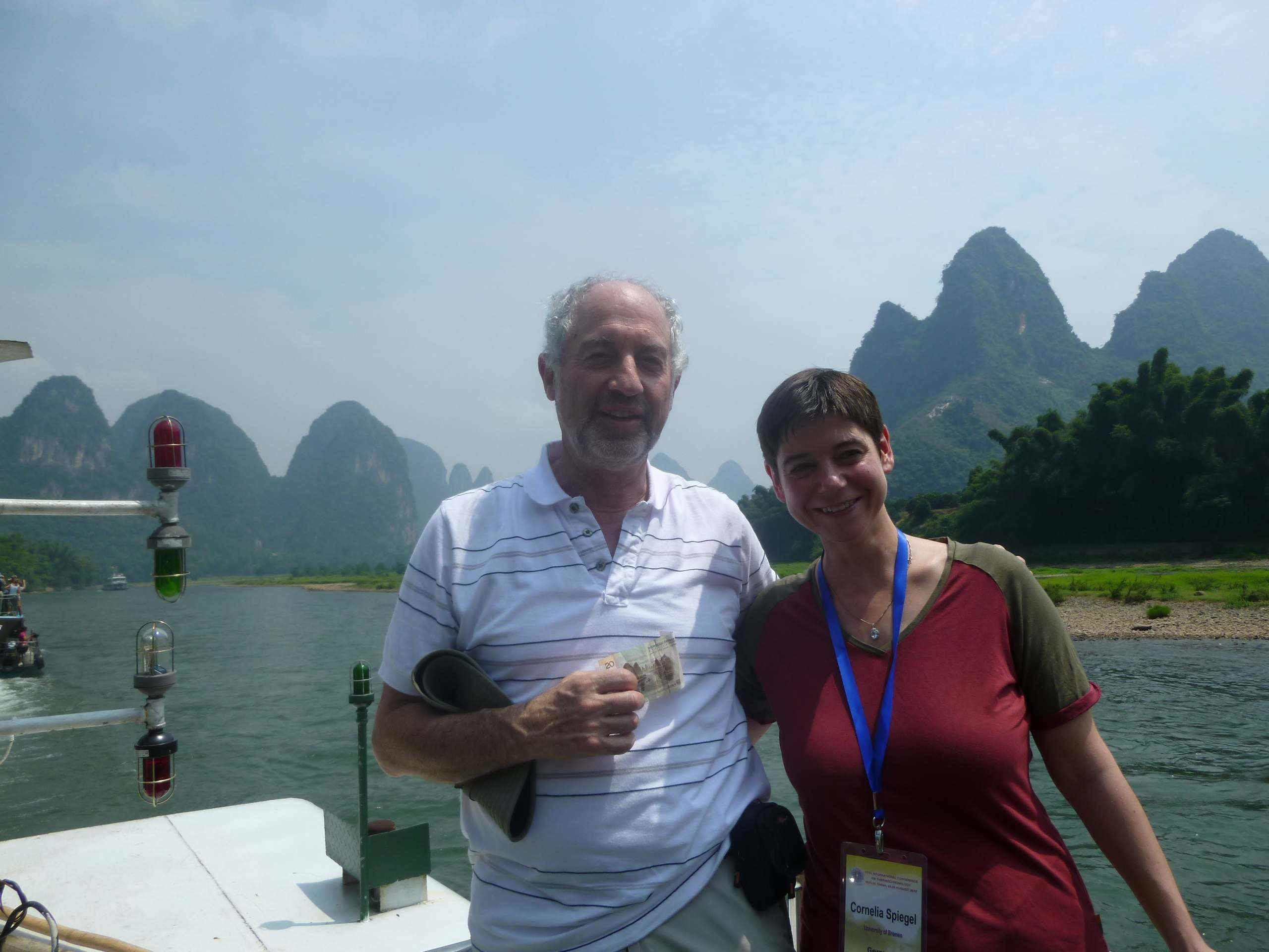 Barry Kohn and Cornelia Spiegel, Guilin, China 2012