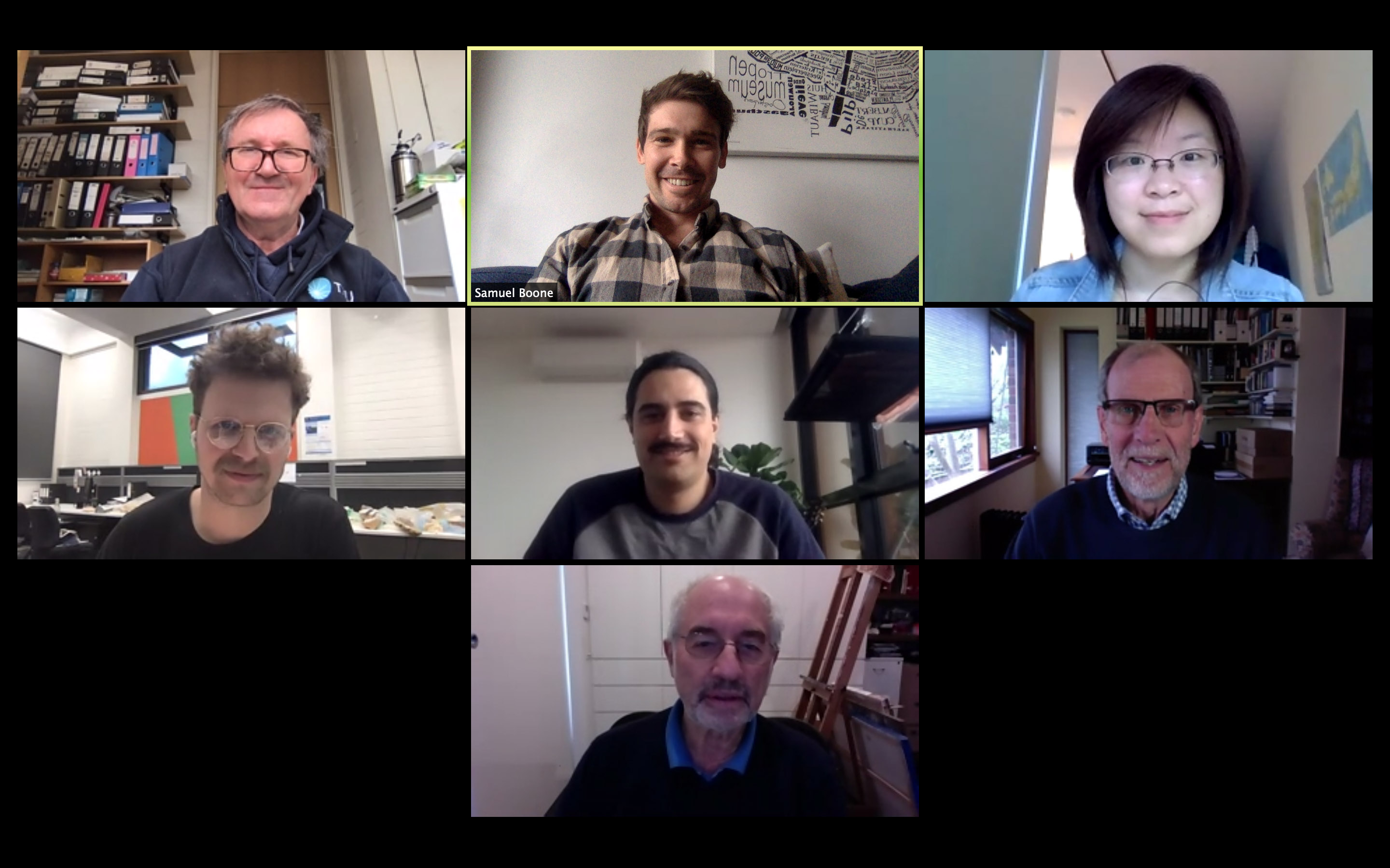Virtual meeting in the COVID era, 2020
