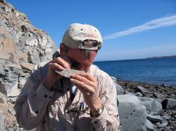 Prof Andy Gleadow, Bahia de Los Angeles, Mexico 2006
