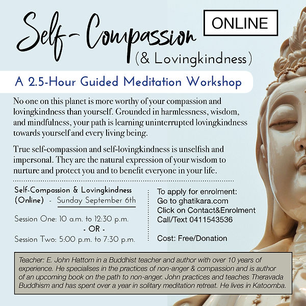 Self-Compassion Exercise September 2020.