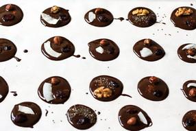 Chocolade en noten