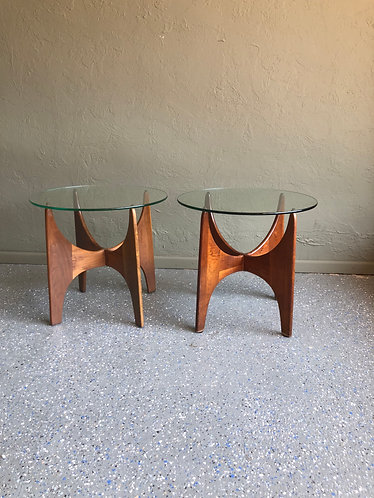 Adrian Pearsall for Craft Associates Side Table Pair