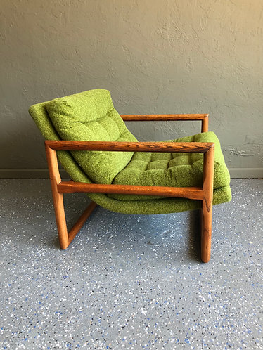 Mid Century Scoop Chair