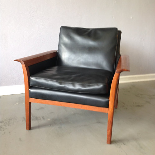Knut Saeter Style Teak Arm Chair