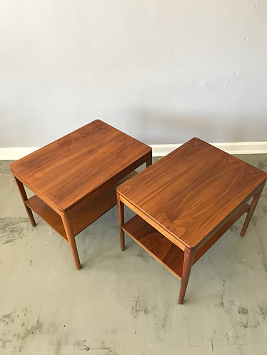 Pair of Drexel Declaration Lamp Tables