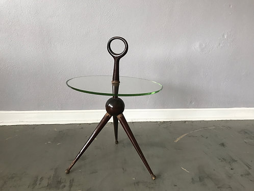 Tripod Side Table by Cesare Lacca